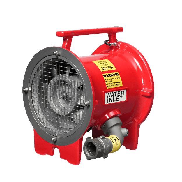 Intrinsically Safe Electric Fans : Ramfan portable ventilation for working professionals
