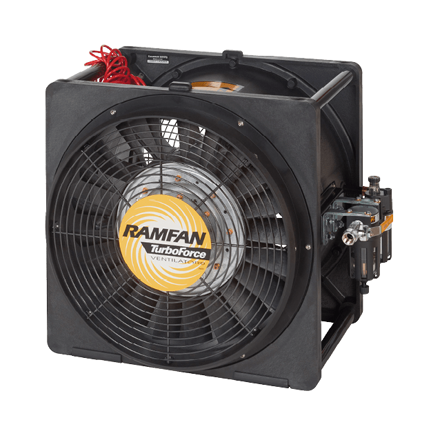 RamFan – Portable Ventilation for Working Professionals